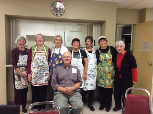 Bakers in the Parish Hall
